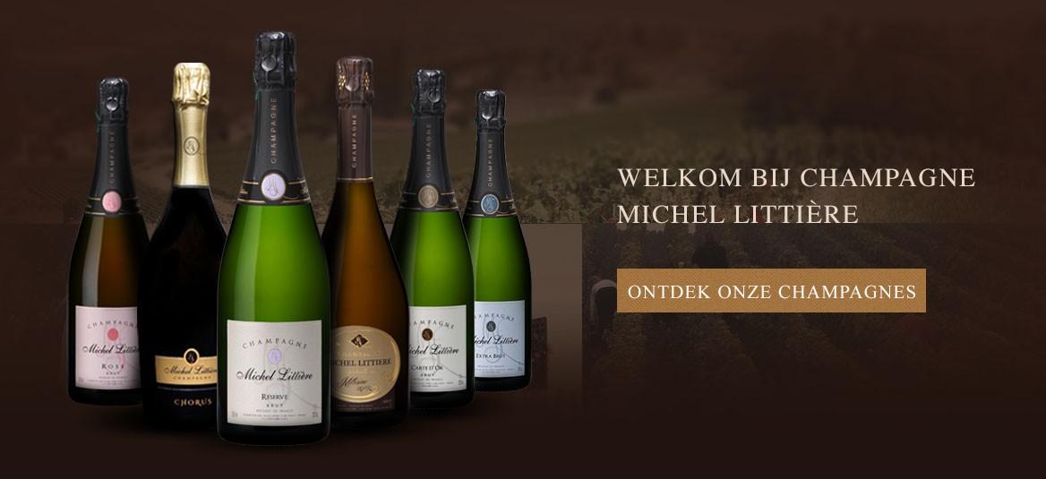 Ontdek onze champagnes